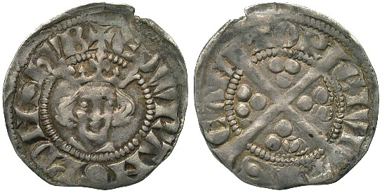 Coins minted by Edward I