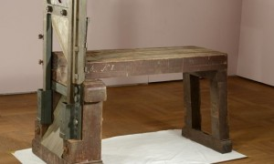 The Guillotine used to kill Hans and Sophie Scholl