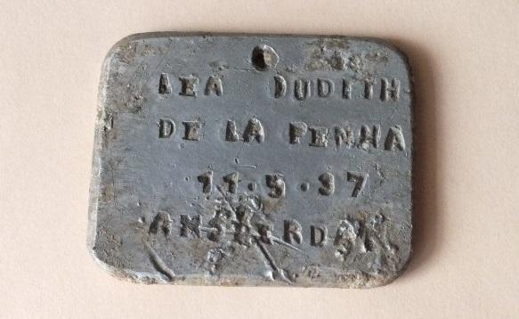 History of Sobibor Amulet