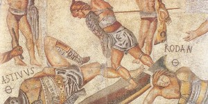 Roman gladiators were vegetarians